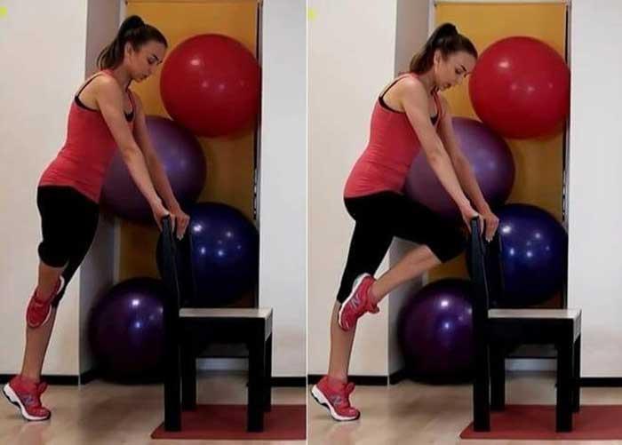Упражнения №3. Коленные повороты