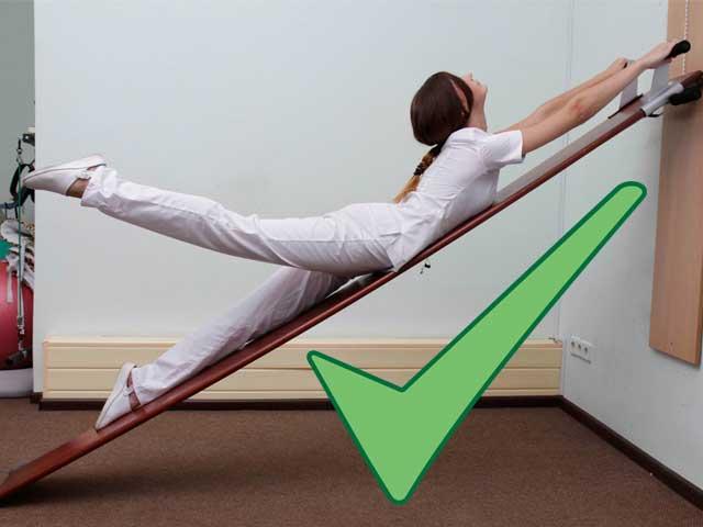 Доска Евминова: упражнения для позвоночника, при грыже || А и фролов видео упражнения для позвоночника