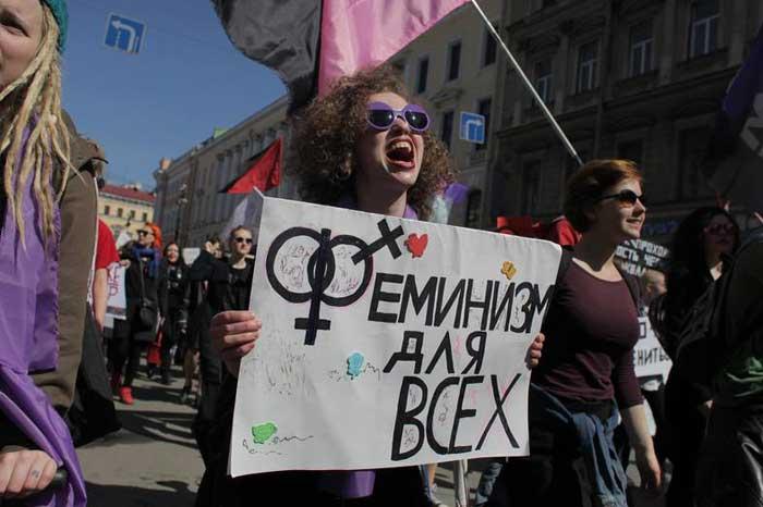 Феминизм по этапам окна Овертона