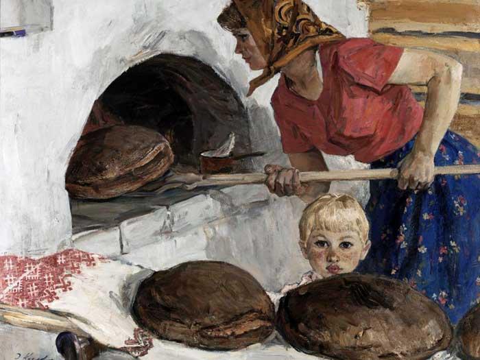 Хлеб древних славян