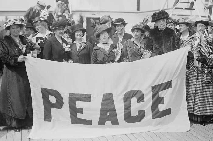 История пацифизма