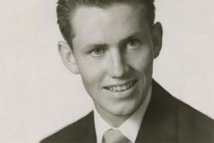 Чарльз Фини в молодости