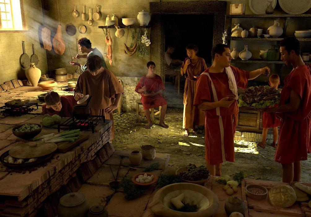 Что ели в Древней Греции