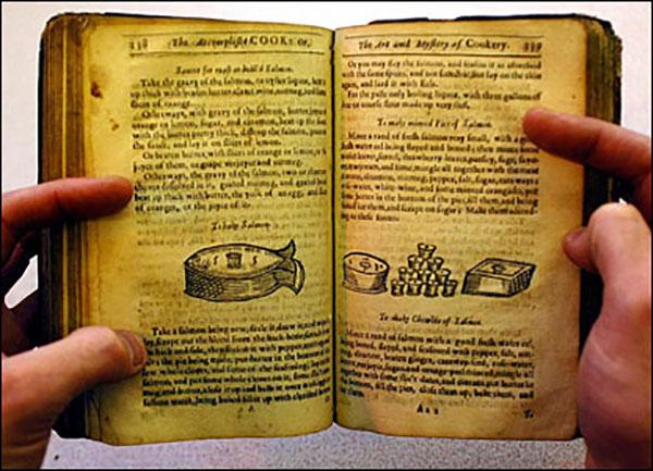 Первая книга с рецептами в древней Греции