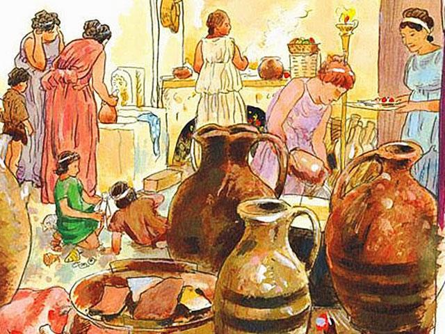 Что ели в Древней Греции: кулинарный рецепт, созданный в V веке до н.э.