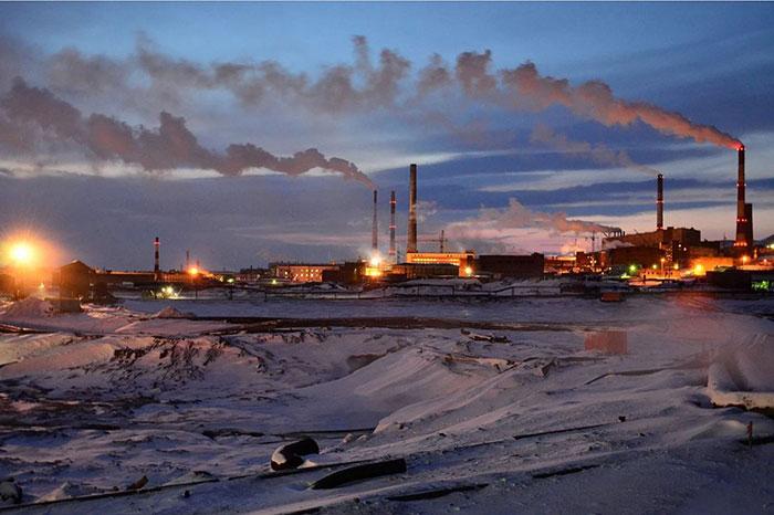 Норильск - экология города