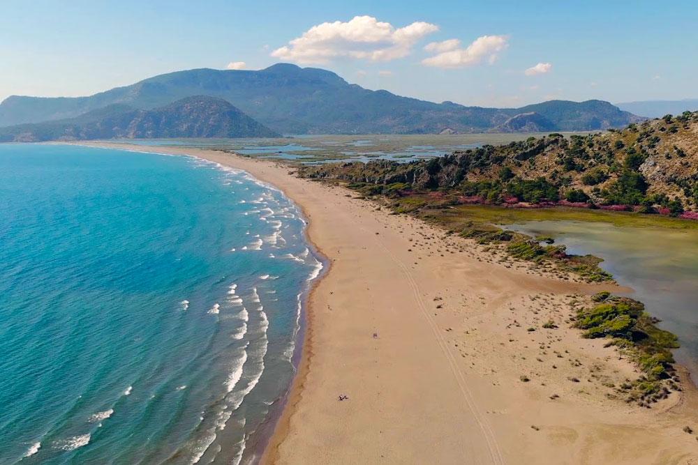 Пляж Изтузу в Турции