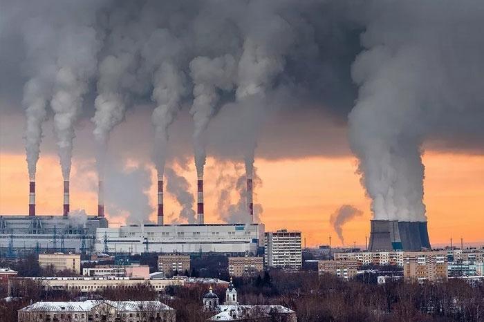 Загрязнение воздуха в Омске