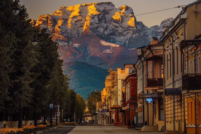 Чистый город Владикавказ