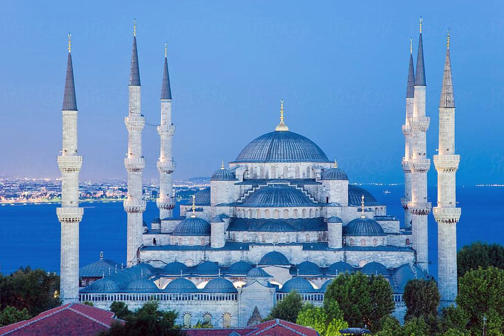 Голубая мечеть в Стамбуле: фото