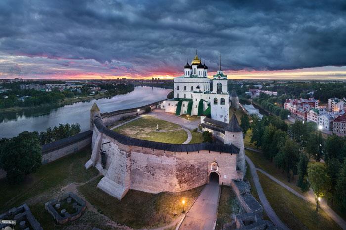 Города России с самым чистым воздухом - Псков