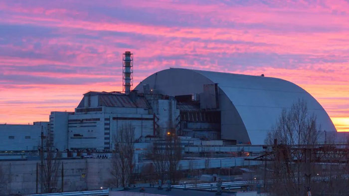 Как выглядит саркофаг в Чернобыле