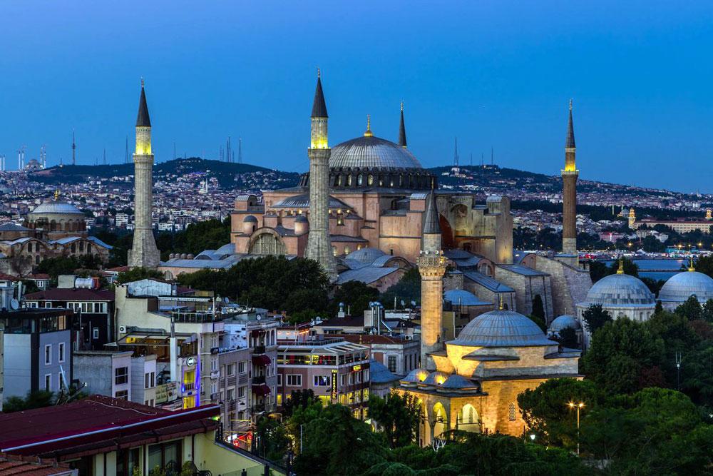 Как выглядит собор Святой Софии в Стамбуле