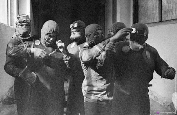 Ликвидаторы Чернобыля 1986