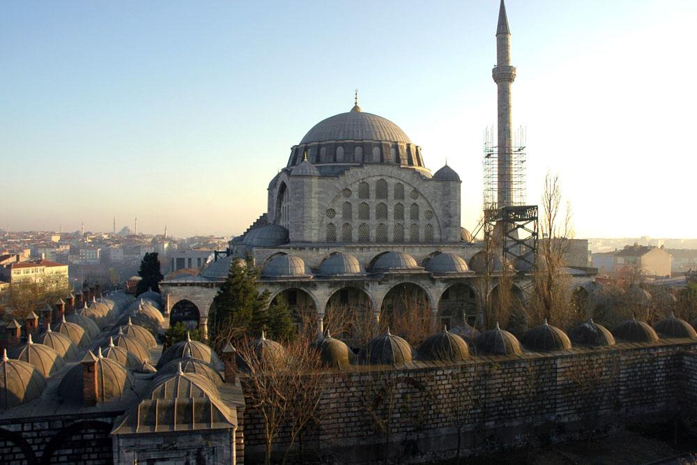 Мечеть Михримах Султан - фото