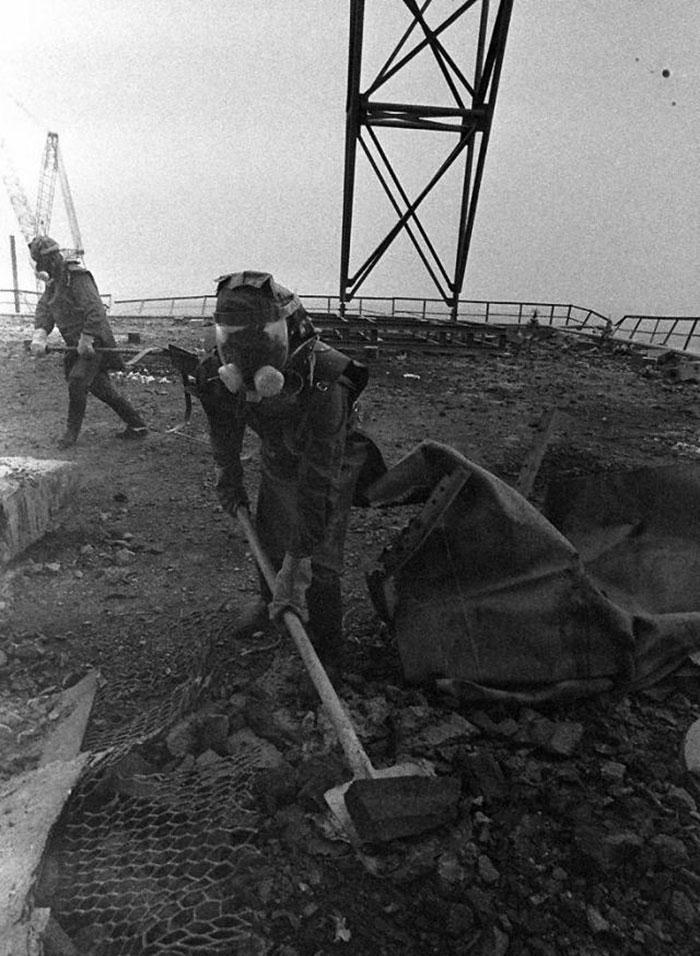 Средства защиты ликвидаторов аварии в Чернобыле