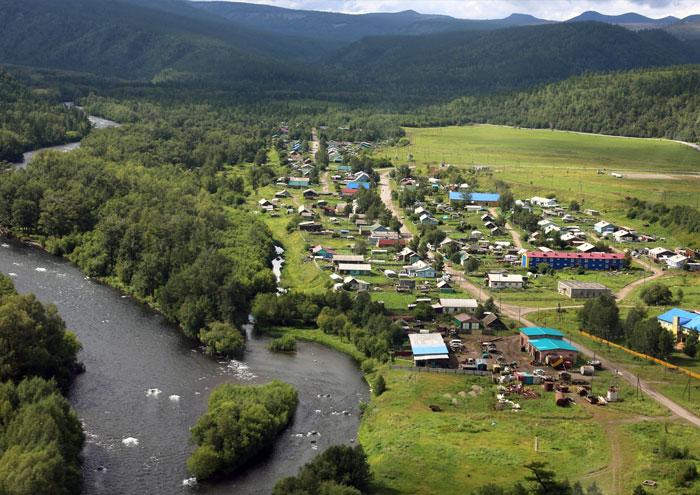 Поселок Эссо. Камчатский край