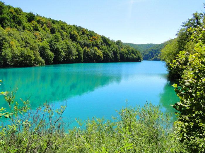 Голубое озеро (южная Хорватия)