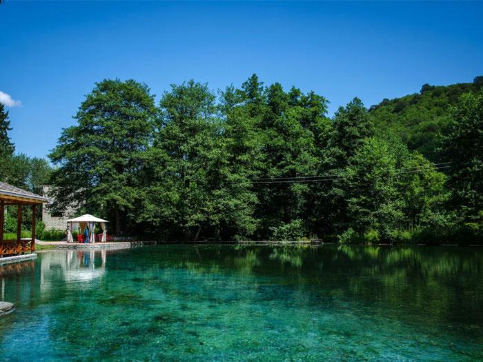 Голубые озера (Кабардино-Балкария), как за границей