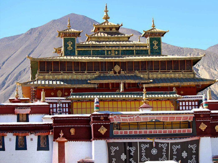 Тибетские монастыри (Центральная Азия)