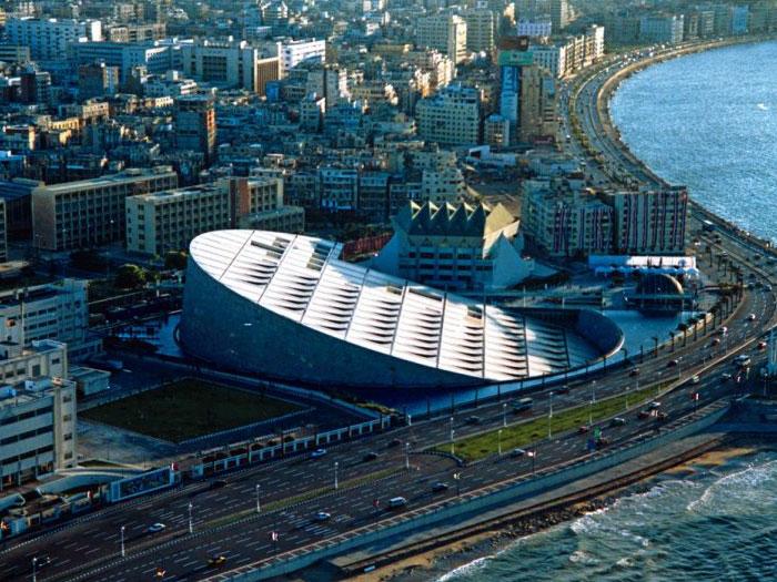 Библиотека Александрина в Александрии