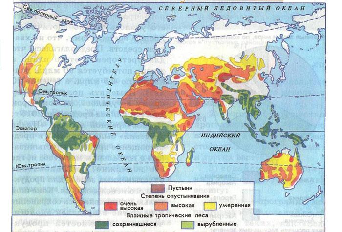 Глобальная проблема опустынивания