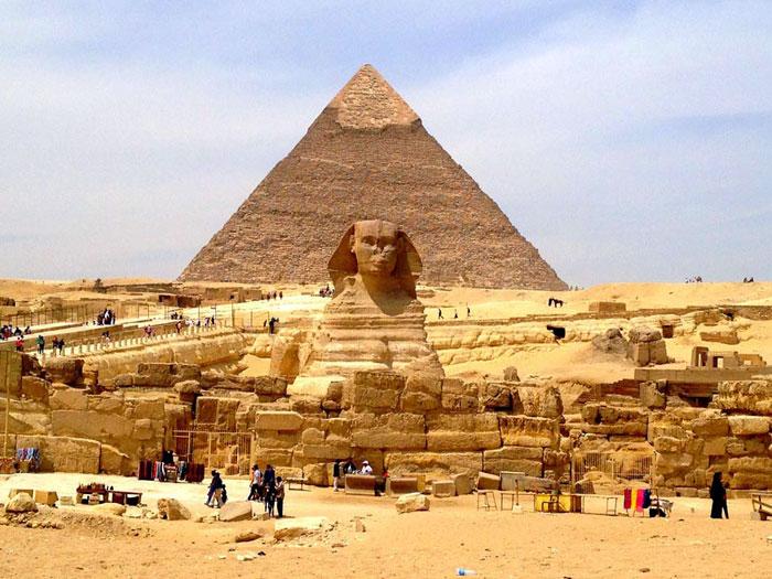 Пирамиды Гиза в Египте