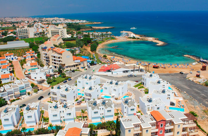 Протарас. Кипр